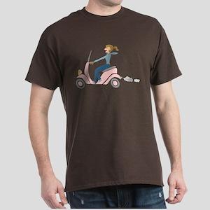 Scooter Girl Dark T-Shirt