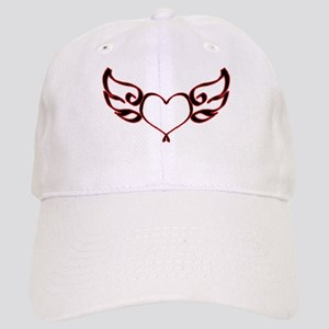 Heart With Wings Cap