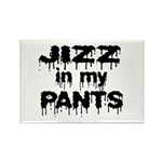 Jizz In My Pants! Rectangle Magnet (100 pack)