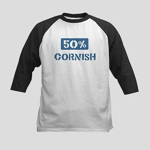 50 Percent Cornish Kids Baseball Jersey