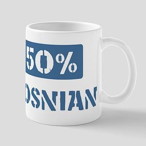 50 Percent Bosnian Mug