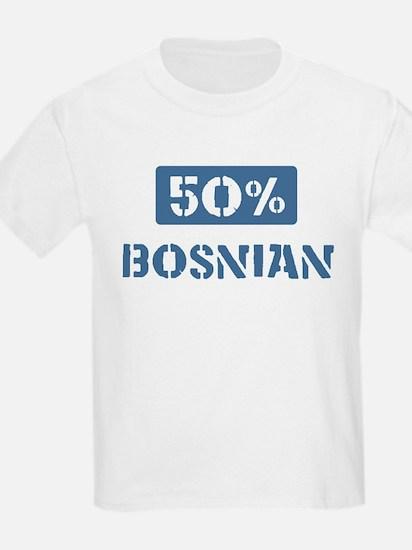 50 Percent Bosnian T-Shirt