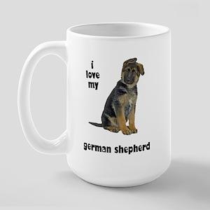 German Shepherd Love Large Mug