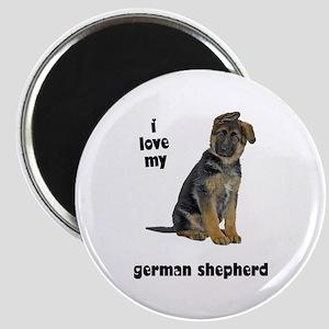 German Shepherd Love Magnet
