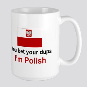 Polish Dupa Large Mug