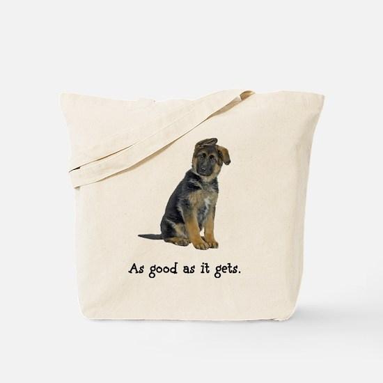 Good German Shepherd Tote Bag