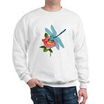 Dragonfly & Wild Rose Sweatshirt