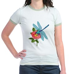 Dragonfly & Wild Rose T