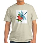Dragonfly & Wild Rose Light T-Shirt