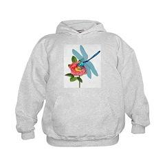 Dragonfly & Wild Rose Hoodie