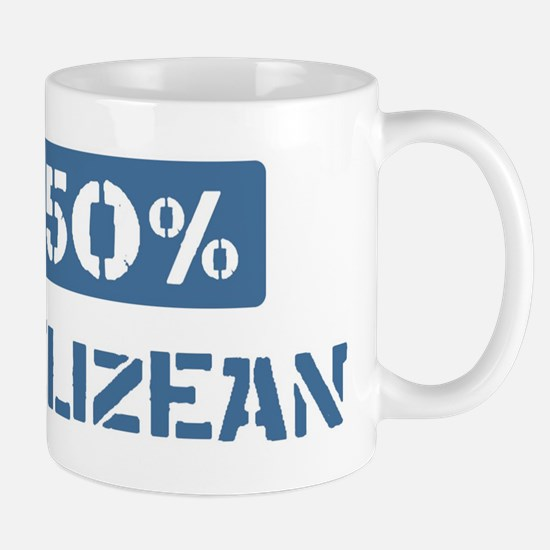 50 Percent Belizean Mug
