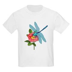 Dragonfly & Wild Rose T-Shirt