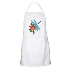 Dragonfly & Wild Rose BBQ Apron