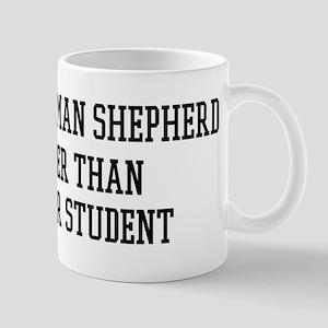 Smart My White German Shepher Mug