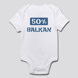 50 Percent Balkan Infant Bodysuit