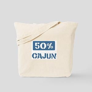 50 Percent Cajun Tote Bag