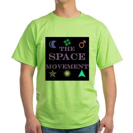 The Space Movement Green T-Shirt