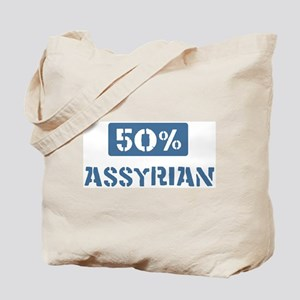 50 Percent Assyrian Tote Bag