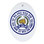 Federation Member Oval Ornament