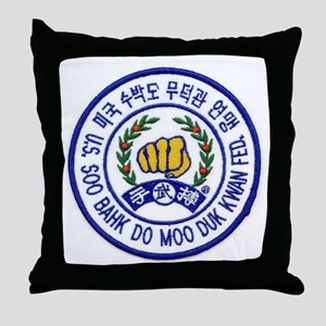Federation Member Throw Pillow