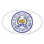 Federation Member Oval Sticker