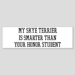 Smart My Skye Terrier Bumper Sticker
