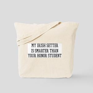 Smart My Irish Setter Tote Bag