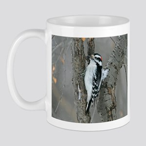 Male Downy Woodpecker Mug