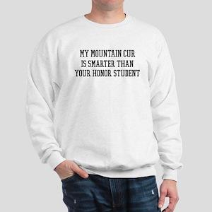 Smart My Mountain Cur Sweatshirt