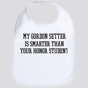 Smart My Gordon Setter Bib