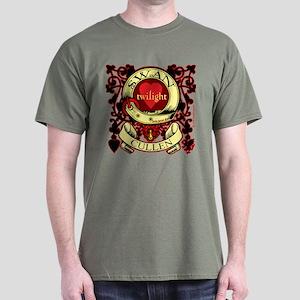 Swan Cullen Crest Twilight Dark T-Shirt