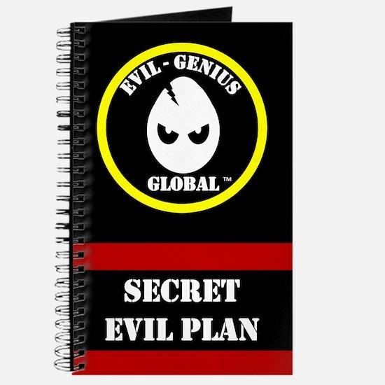 Evil-Genius Global Plan Book (Journal)