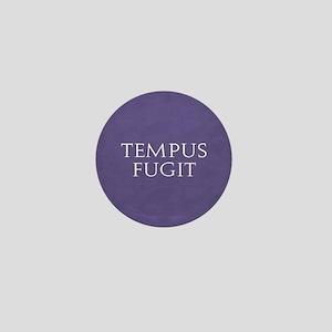Tempus Fugit Mini Button