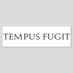 Tempus Fugit Bumper Sticker