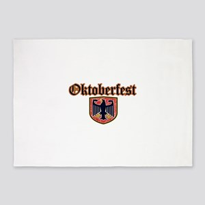 Oktoberfest Shield 5'x7'Area Rug