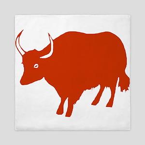 Red Ox Queen Duvet