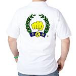 Fist Only - LOGOC97B 10x10 Golf Shirt