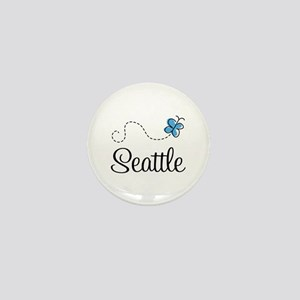 Pretty Seattle Mini Button