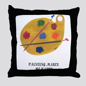 THE ARTIST IN ME Throw Pillow