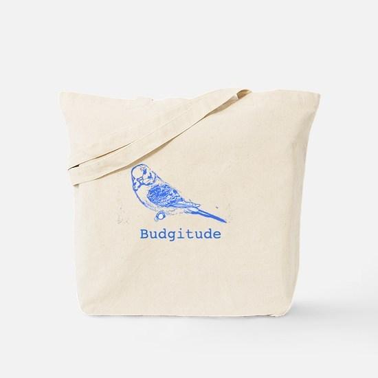 Budgitude Tote Bag