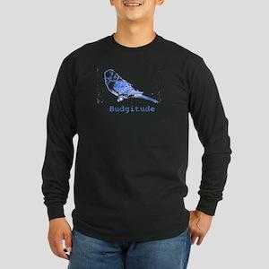 Budgitude Long Sleeve Dark T-Shirt