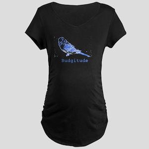Budgitude Maternity Dark T-Shirt