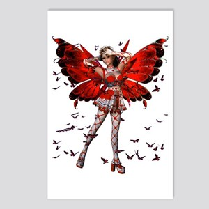 Butterfly Kisses Ruby Postcards (Package of 8)