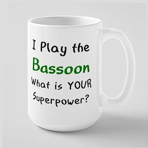 play bassoon 15 oz Ceramic Large Mug