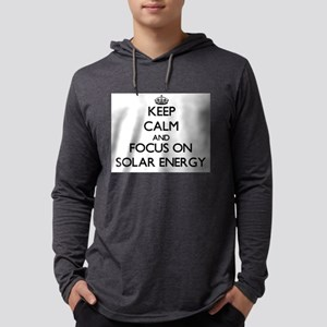 Keep Calm and focus on Solar E Long Sleeve T-Shirt