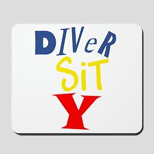 Diver Sit Y Mousepad
