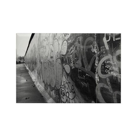Berlin Wall Rectangle Magnet