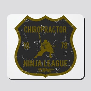 Chiropractor Ninja League Mousepad