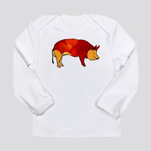 Love Pig Long Sleeve Infant T-Shirt