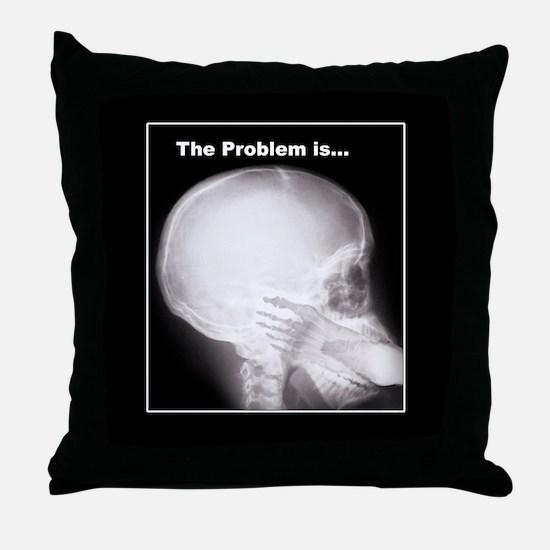 Medical humor Throw Pillow